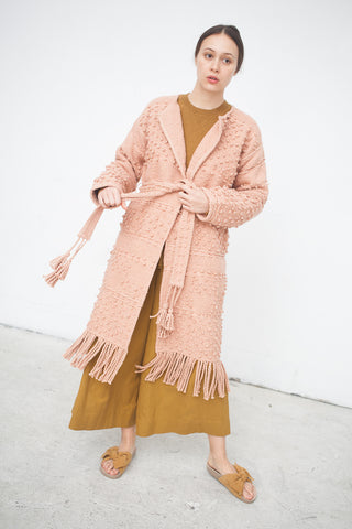 Ulla Johnson Amara Coat in Rose | Oroboro Store | New York, NY