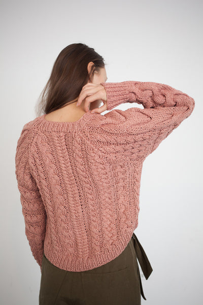 Niva Sweater in Rosewood