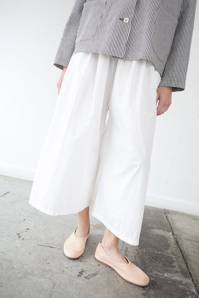 Cropped Pant in White