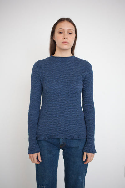 Mora Sweater in Indigo
