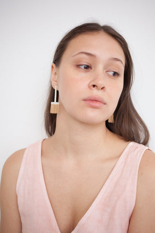 Hannah Keefe Low T Earring | Oroboro Store | Brooklyn, New York