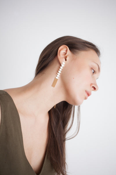 Hannah Keefe Saw Earring | Oroboro Store | Brooklyn, New York