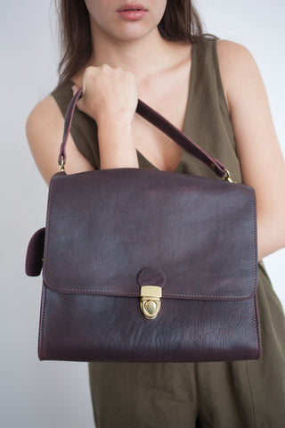 Marlow Goods Dinard Bag in Treated Oxblood | Oroboro Store | Brooklyn, New York