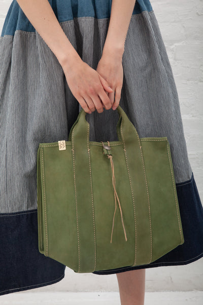 VISVIM Teton Tote in Green | Oroboro Store | New York, NY