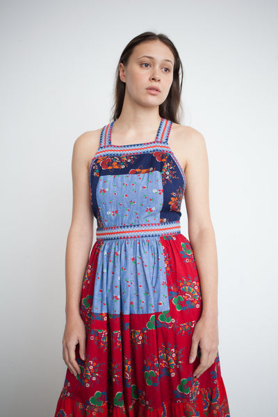 Ulla Johnson Lune Dress in Patchwork | Oroboro Store | Brooklyn, New York