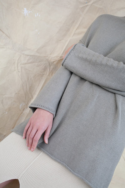 Lauren Manoogian - Oversized Boatneck - Clay | Oroboro Store | Brooklyn, New York
