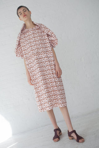 A Detacher Dante C Dress in Mini Peony Print | Oroboro Store | New York, NY