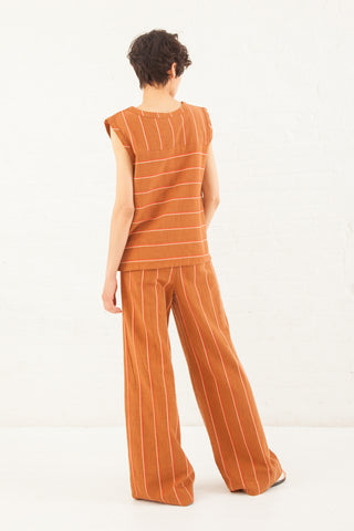 Ace & Jig Davis Pant in Cognac | Oroboro Store | New York, NY