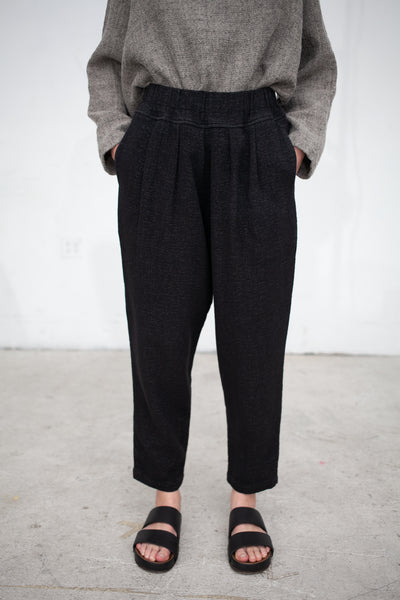 Black Crane Bulb Pant in Sage | Oroboro Store | New York, NY