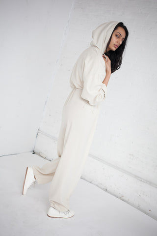 Baserange Hujui Jumpsuit in Off White | Oroboro Store | Brooklyn, New York