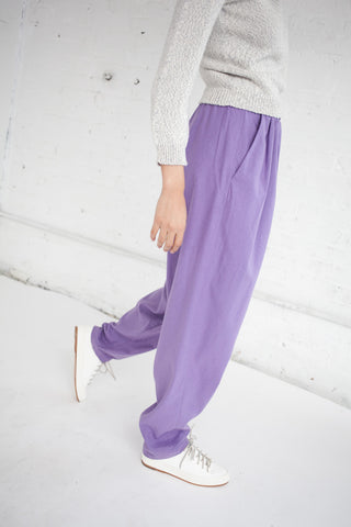 Basrange Isha Pants in Purple | Oroboro Store | Brooklyn, New York