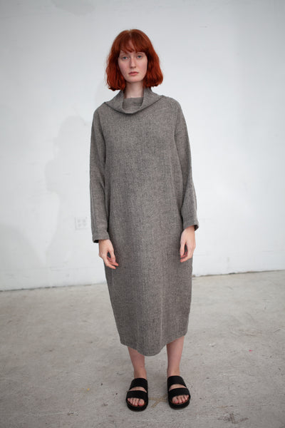Black Crane Tube Dress in Sage | Oroboro Store | New York, NY