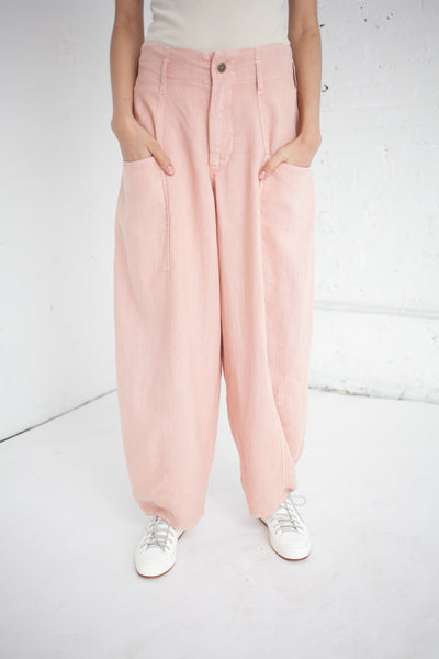 Bell Pant in Dusty Rose