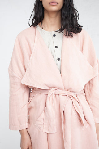69 Minimal Trench in Dusty Rose | Oroboro Store | Brooklyn, New York