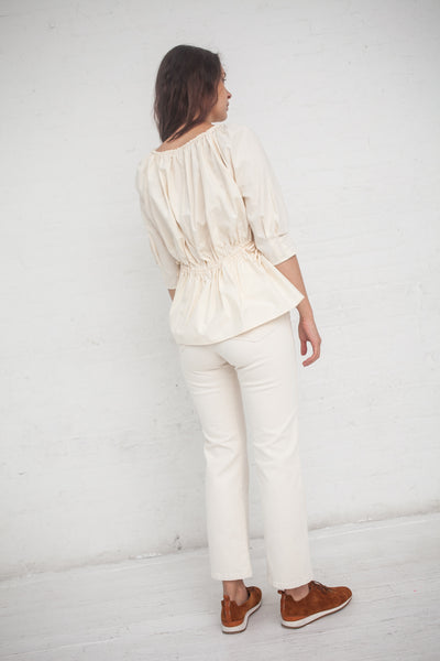 Caron Callahan Judith Top in Natural | Oroboro Store | New York, NY