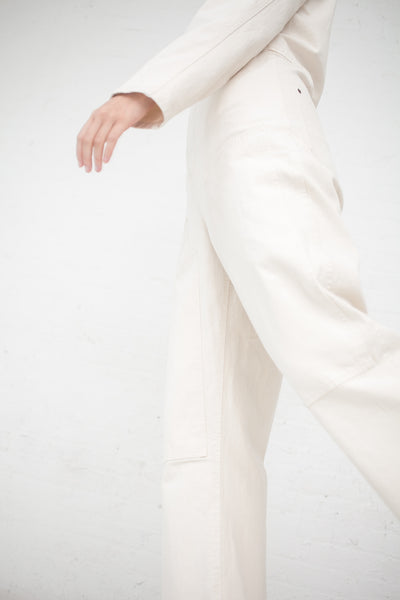 Caron Callahan Fincher Jumpsuit in Ivory | Oroboro Store | New York, NY