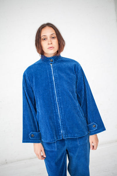 Caron Callahan Harrington Jacket in True Indigo | Oroboro Store | New York, NY