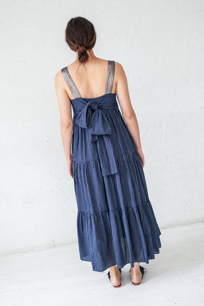 Ulla Johnson Bess Dress in Midnight | Oroboro Store | New York, NY
