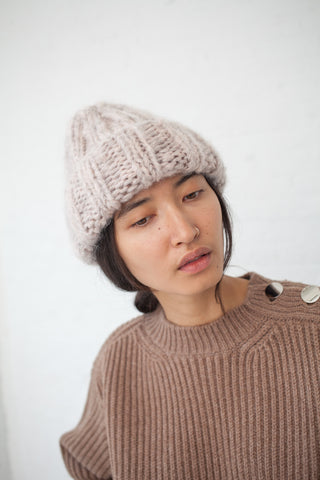 Clyde Fold Hat in Blush | Oroboro Store | New York, NY