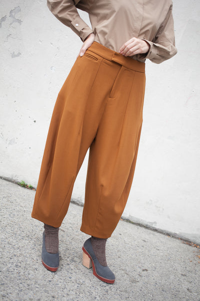 Balloon Pant in Tobacco