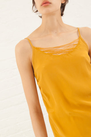 Correll Correll Lace Camisole in Gold | Oroboro Store | New York, NY