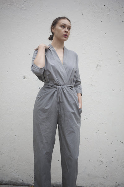 Cosmic Wonder Wrapped Suit in Grey | Oroboro Store | Brooklyn, New York