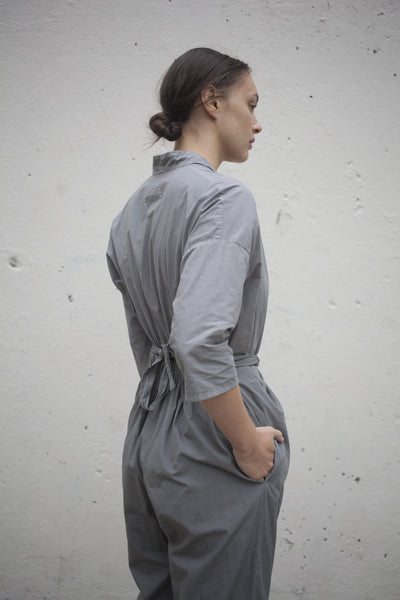 Wrapped Suit in Grey