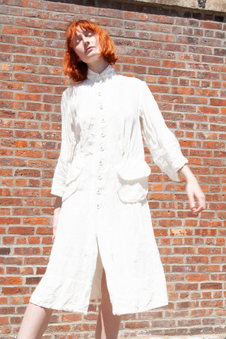 HALLELUJAH Manteau de Berger in Off White | Oroboro Store | New York, NY