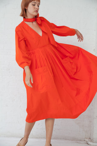 Ulla Johnson Isabeau Dress in Paprika | Oroboro Store | New York, NY