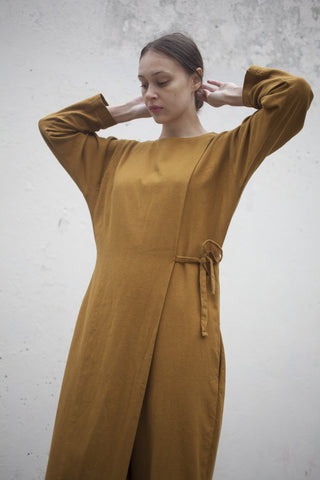 Black Crane Folding Jumper Gold Brown | Oroboro Store | Brooklyn, New York