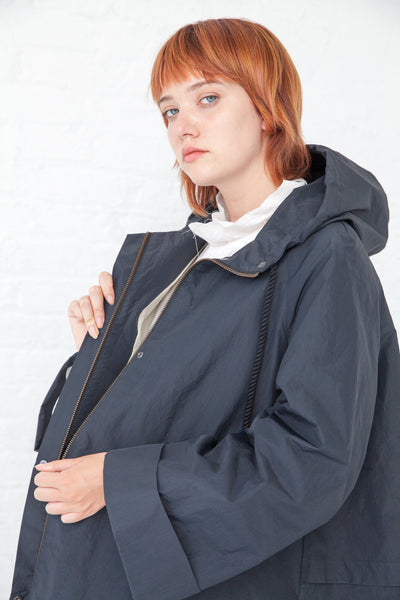 Samuji Afia Coat in Charcoal | Oroboro Store | New York, NY