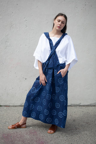 Nehera Salgue Skirt in Indigo | Oroboro Store | Brooklyn, New York