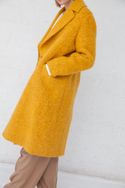 Tomorrowland Chester Field Coat in Yellow | Oroboro Store | New York, NY