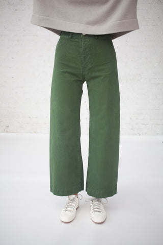 Jesse Kamm Sailor Pant in Olive | Oroboro Store | New York, NY