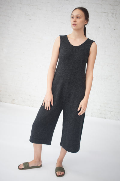 Lauren Manoogian Miter Jumpsuit in Charcoal | Oroboro Store | New York, NY
