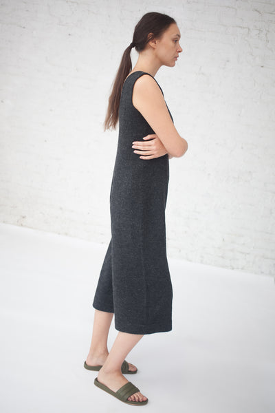 Miter Jumpsuit in Charcoal
