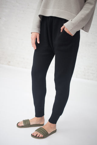 Lauren Manoogian Arch Pants in Black | Oroboro Store | New York, NY