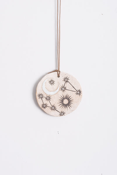 MQuan Sun, Moon & Stars Disc Ornament | Oroboro Store | Brooklyn, New York
