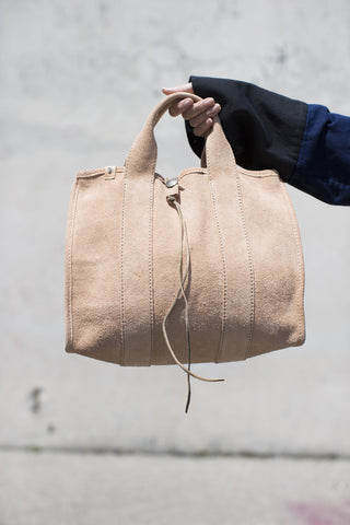 Visvim Teton Tote Bag in Natural Suede | Oroboro Store | Brooklyn, NY