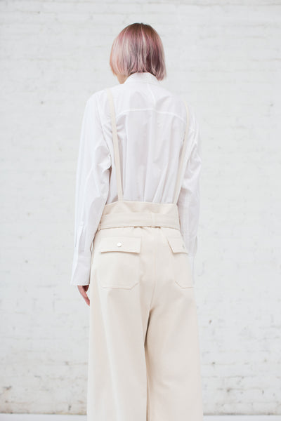 Poco Trousers in Light Ivory
