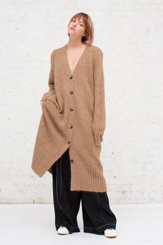 A Detacher Carmel Cardigan in Honey | Oroboro Store | New York, NY