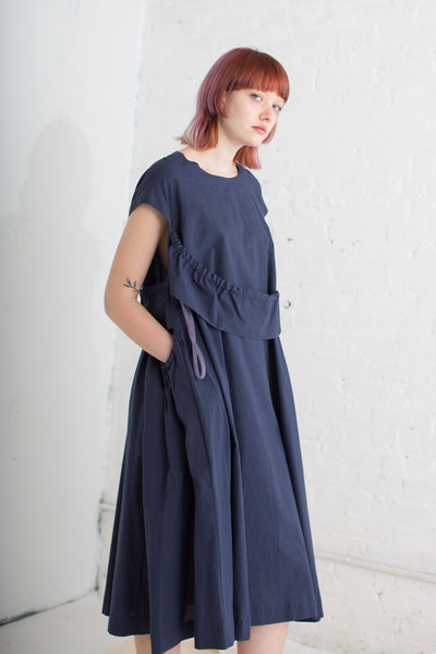 Cats Cradle Dress in Navy