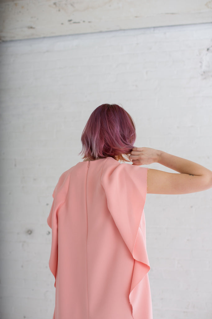 A Detacher Louise Dress in Blush | Oroboro Store | Brooklyn, New York