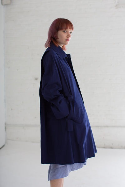 Coat in Blue