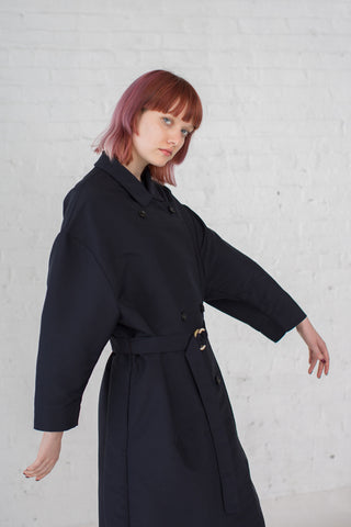 Samuji Winka Coat in Dark Navy | Oroboro Store | Brooklyn, New York