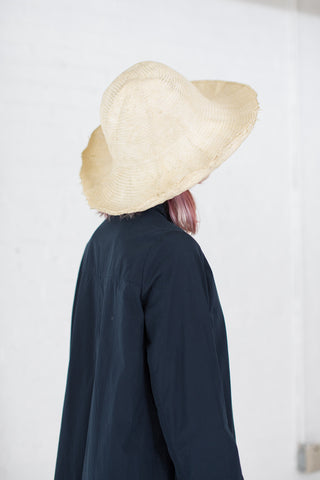 Reinhard Plank Cupola Paper Spiga Hat in Cream | Oroboro Store | Brooklyn, New York