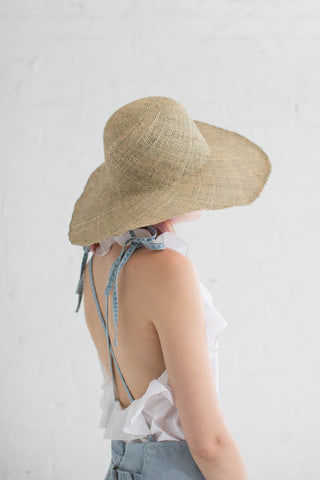 Clyde Dome Panama Hat in Seagrass | Oroboro Store | Brooklyn, New York