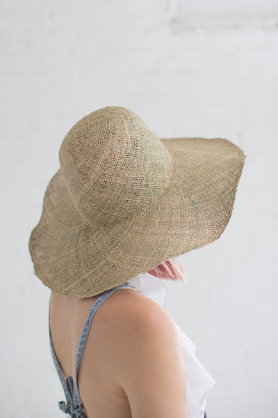 Dome Panama Hat in Seagrass