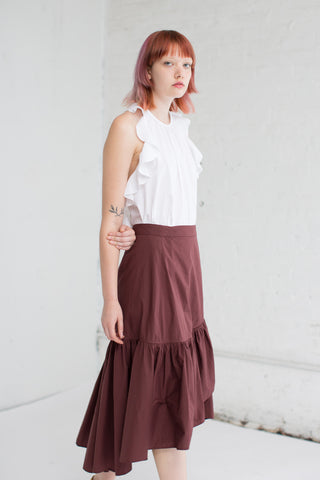 Ulla Johnson Camilla Skirt in Raisin | Oroboro Store | Brooklyn, New York