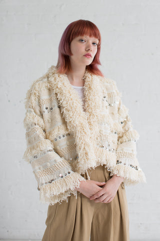 Ulla Johnson Raina Jacket in Natural | Oroboro Store | Brooklyn, New York